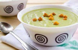 Суп из брокколи и чечевицы для диеты 1200 калорий