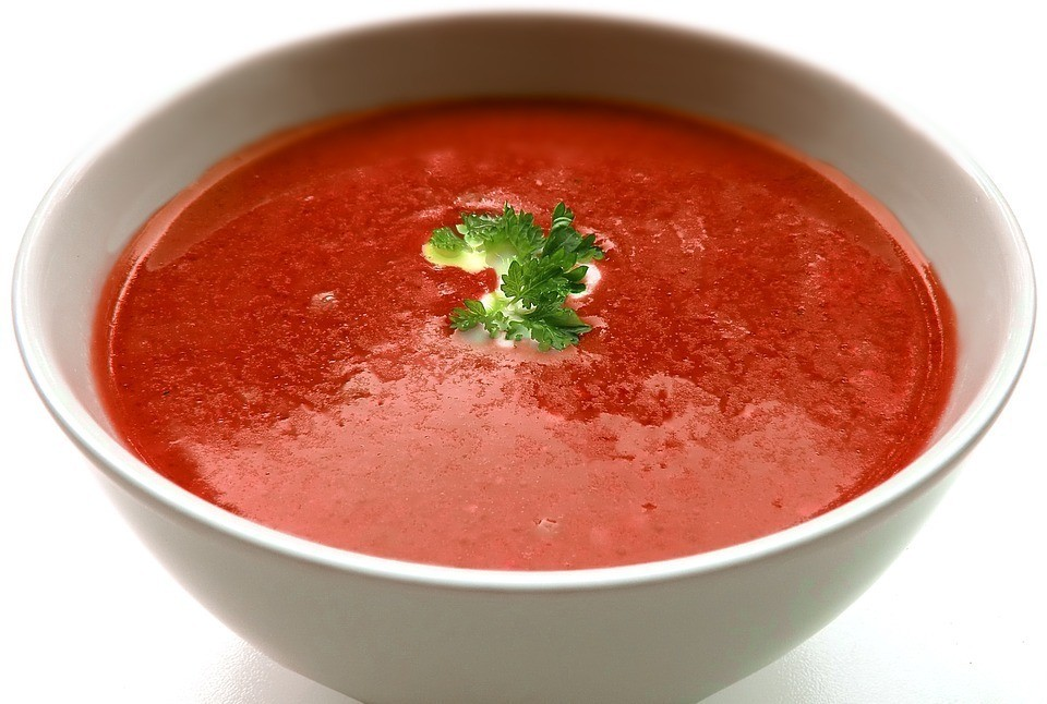 Томатный суп: 10 полезных свойств для здоровья.