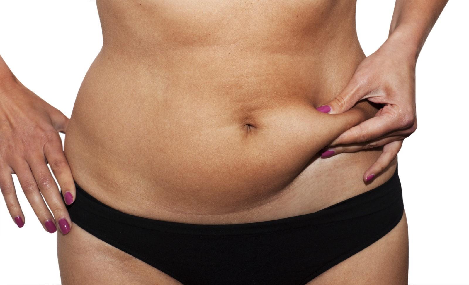 Как убрать жир внизу живота: полезные советы.