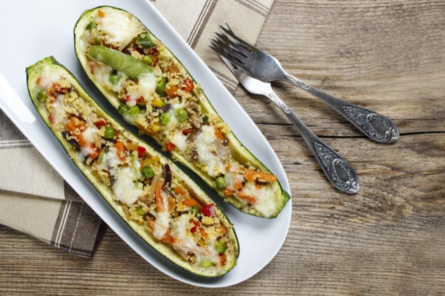 Запеченные фаршированные кабачки без мяса: лучшие начинки