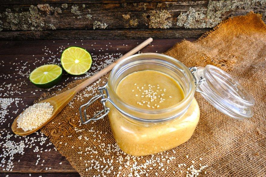 Соус тахини, рецепт вкусной заправкой из поджаренного кунжута