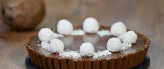 Торт трюфель с кокосом и шоколадом: как его приготовить