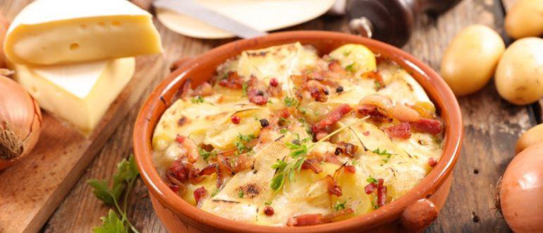 Как приготовить тартифлет Savoyard из картофеля и сыра