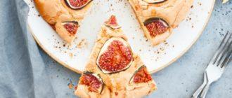 Пирог с инжиром и грецкими орехами: рецепт с маслом и без