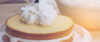 Как приготовить сливочный крем для начинки тортов