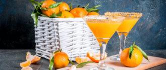 Рецепт коктейля Пуччини и история напитка с мандарином и игристым вином