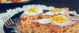 Рецепт рисового пирога Болоньезе с миндалем и засахаренным цитроном